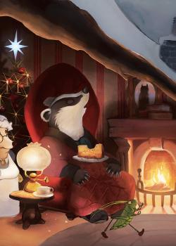Illustrazione per l'infanzia, Natale 2017, By Luke