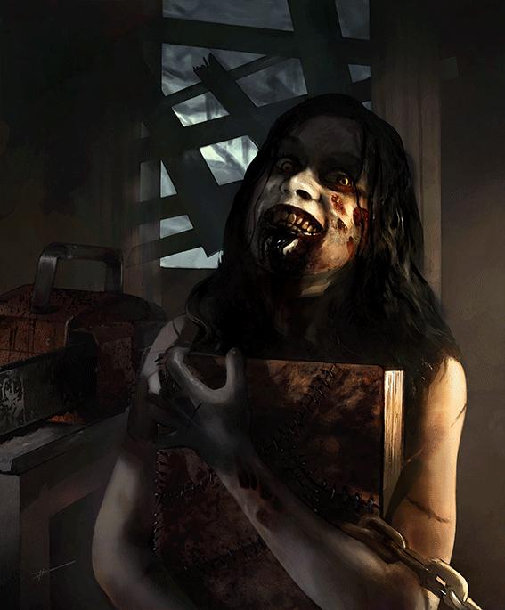 Evil dead poster Luke